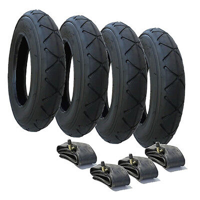 "TYRE & INNER TUBE SET SUITABLE FOR FOR MOUNTAIN BUGGY DUET 10"" x 2.0 - FREE POST"