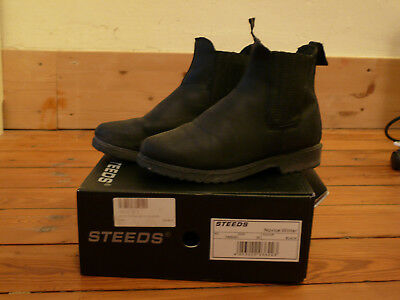 Winter Reitstiefeletten, STEEDS Novice, schwarz, Gr. 35