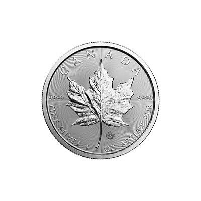1 oz 2019 Silver Maple Leaf Coin - RCM - .9999 Ag - Royal Canadian Mint