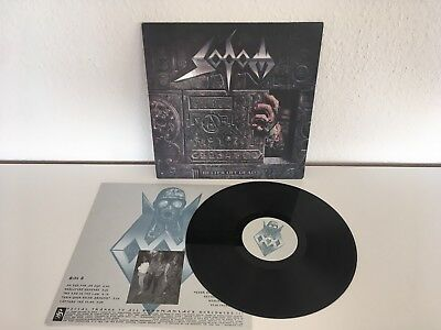 Sodom Lp Better off Dead - Steamhammer 1990 OIS