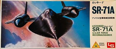 "LS 1/144 Lockheed ""BLACK BIRD"" SR-71A"
