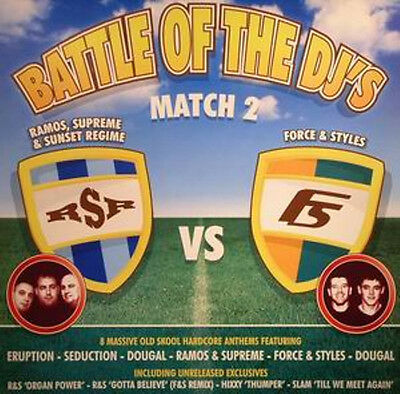 2 x LP UK HARDCORE**VARIOUS - BATTLE OF THE DJ'S - MATCH 2 (BEAT 24-7)***4731