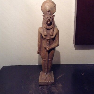 Rare Antique Ancient Egyptian Statue God Sekhmet God War Hunting 1720-1640BC