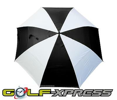 Masters Golf - TourDri GR 32 Inch UV Umbrella Jet Black/White Panels