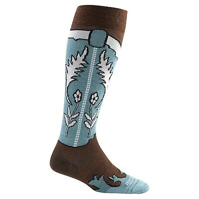 Darn Tough Women's Annie Oakley Knee High Light Socks Leather Small
