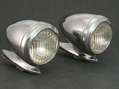 Original 1932 – 1934 Packard Fender Lights CM Hall Parking Lamps