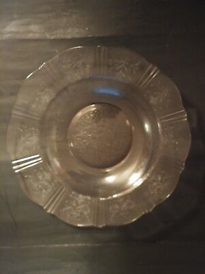 Vintage Mcbetj Adams American Sweetheart Pink depression Glass Shallow Bowl