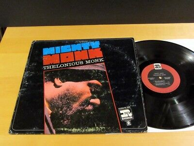 THELONIOUS MONK Mighty Monk RIVERSIDE RS-3000 Stereo NM/NM-