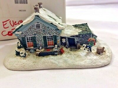 1992 Norman Rockwell Hometown Collection Evergreen Cottage #L2514