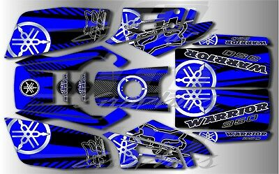 YAMAHA WARRIOR full graphics kit DECALS STICKERS ..