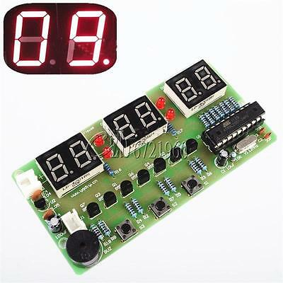 C51 6-Bits Digital Electronic Clock Electronic Production Suite DIY Kits