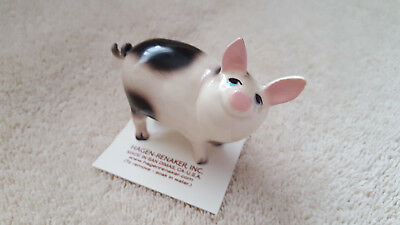 Hagen Renaker Pig Papa Figurine Miniature Collect Gift New Free Shipping 02078