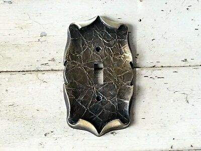 Vintage Amerock, Carriage House, Antique English Brass Light Switch Cover