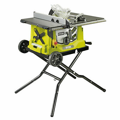 Ryobi RTS1800EF-G Table Saw with Extendable Table 254mm Blade 1800w 240v
