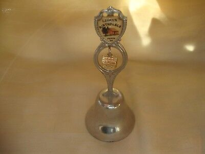 Birthplace of Laura Ingalls Wilder Pepin Wi Souvenir Bell