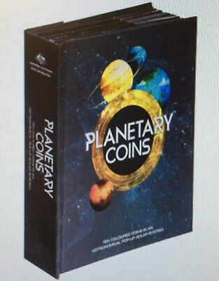 2017 10 coin collection - planetary coins collection - includes Venus and Uranus