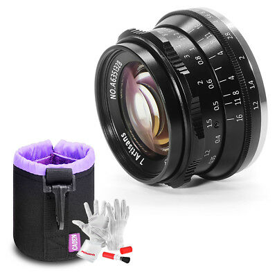 7artisans 35mm F1.2 APS-C Manual Focus Lens Fit for Sony A6500 A6300 A6000 A5100