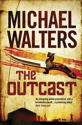 The Outcast by Walters, Michael Hardback Book The Cheap Fast Free Post