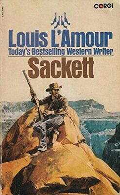 Sackett by L'Amour, Louis Paperback Book The Cheap Fast Free Post