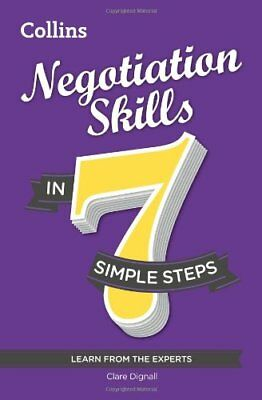 Negotiation Skills in 7 simple steps by Dignall, Clare Book The Cheap Fast Free