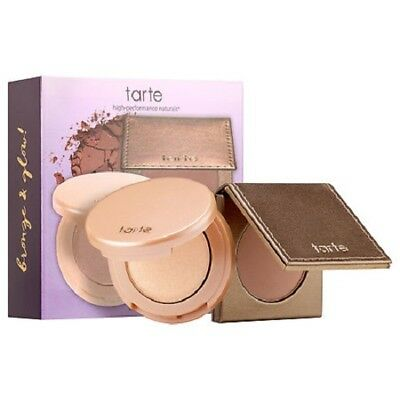 TARTE Glow Girls Bronzer & Highlighter Duo TRAVEL SIZE BNIB 100%AUTHENTIC AUSS