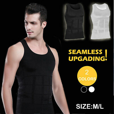 Men Men's Slimming Body Slim Shaper Underwear Corset Compression Shirt/vest