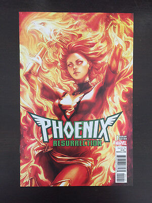 Phoenix Resurrection The Return of Jean Grey 1 Artgerm variant NM Unread