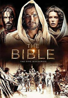 The Bible: The Epic Miniseries (DVD, 2013, 4-Disc Set) - BRAND NEW
