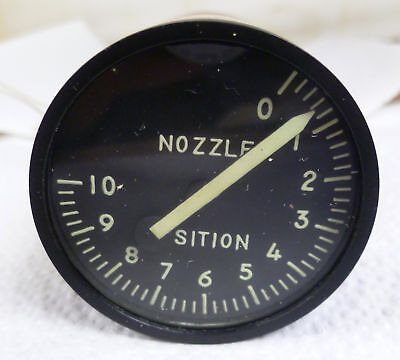 F-104 Nozzle Position Indicator, P/N: 9806-13