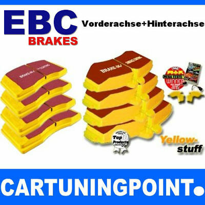 EBC Bremsbeläge VA+HA Yellowstuff für Jeep Commander XK DP41732R DP41745R