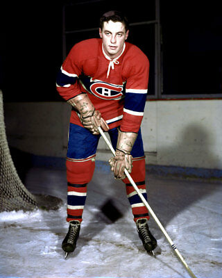 Jean Beliveau Montreal Canadiens 8x10 Photo