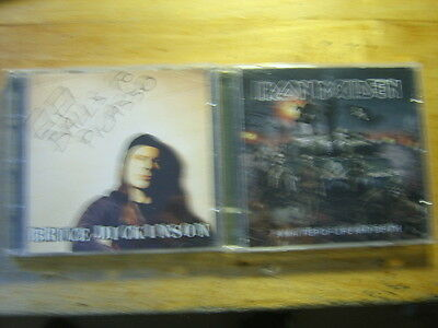 Iron Maiden + Bruce Dickinson [2 CD Alben] Matter of Life and + Balls to Picasso
