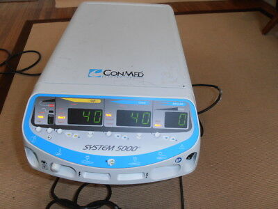 Conmed System 5000 Electrosurgical Generator with mono and bi polar switches