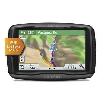 "Garmin ZUMO 395LM 4.3"" Sat Nav Motorbike Motorcycle GPS UK And Europe NEW"
