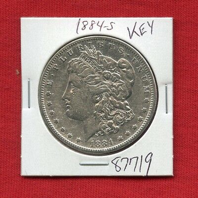 1884 S Morgan Silver Dollar #87719 High Grade Coin Us Mint Rare Key Date Estate