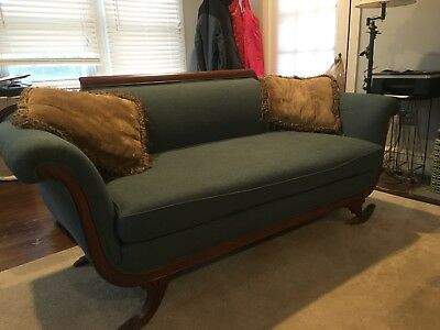 Antique American Federal Classical Sofa Duncan Phyfe With Potential