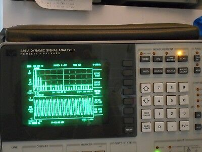 HP 3561A Dynamic Signal Analyzer (0-100 Khz)  Excellent working condition