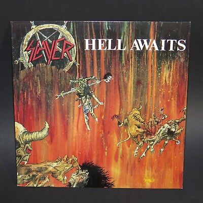 SLAYER - Hell Awaits LP Roadrunner 1985