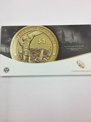 2015 Mohawk Ironworkers $1 Coin And Currency Set.