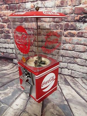Coca cola vintage gumball machine candy machine Coke memorabilia novelty