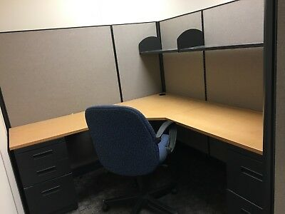 Herman Miller Office Cubicles 6x7ft - Panels & Tabletops