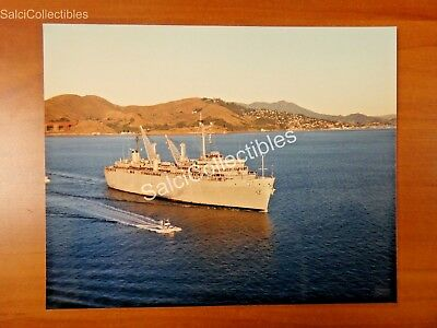 OFFICIAL US Navy Destroyer Tender Ship Photo 8x10 AD-37 USS Samuel Gompers