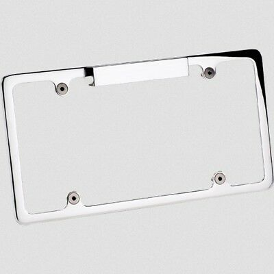 2) BILLET SPECIALTIES License Plate Frame Aluminum Polished Chevy ...
