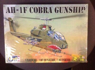 Khs - 1/48 Revell Model Kit #85-5321 Ah-1F Cobra Gunship