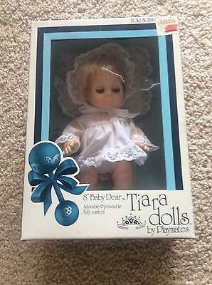 BEAUTIFUL Baby Dear Vintage 1981 Tiara Doll by Playmates  8""