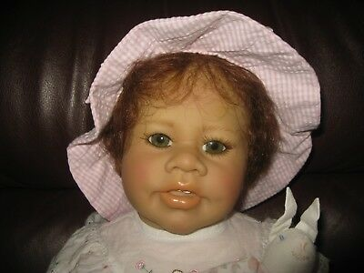 """MIB 21"""" Vinyl Heart & Soul Baby Toddler Doll by Sibylle Tade-Meinese *ANIKA*"""