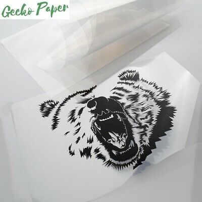 Micro-Porous Film for Inkjet Printers High Quality Printable Acetate Pack of 10