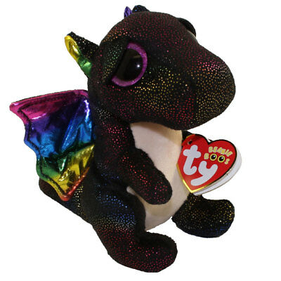 "TY Beanie Boos 6"" ANORA the Dragon Plush Stuffed Animal Toy MWMTs Ty Heart Tags"