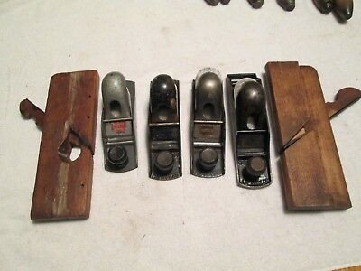 Vintage Antique Hand Planes Lot of 6 Stanley Auburn Nice Condition 130 110 wood