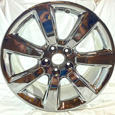 "2010-2013 ACURA ZDX 71795 42700SZNA02 Wheels Rims - 19"" Chrome OEM Set of 4"